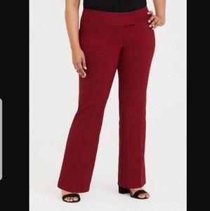 Torrid short classic millennium stretch RX trouser